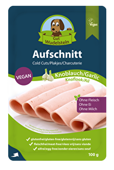Aufschnitt Knoblauch von Gut Wudelstein bei kokku im veganen Shop kaufen!