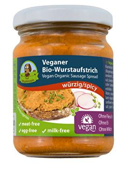 Veganer Wurstaufstrich °Würzig° von Gut Wudelstein günstig bei Kokku im Veganshop kaufen!