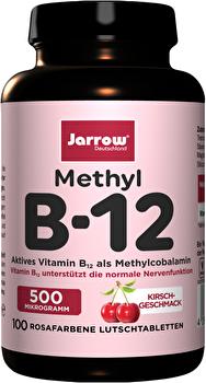 B12 Lutschtabletten Jarrow® Methyl B-12 - vegane Nahrungsergänzungsmittel bei kokku kaufen