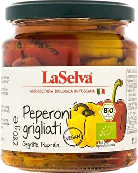 Gegrillte Paprika in Öl von LaSelva günstig bei Kokku im Veganshop kaufen!