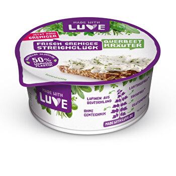 Veganer Lupinen Aufstrich Kräuter von Made With Luve günstig bei kokku im veganen Onlineshop kaufen!