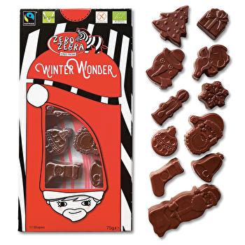 Zero Zebra Winter Wonder von Marthomi- vegane Schokolade ohne Allergene bei kokku kaufen