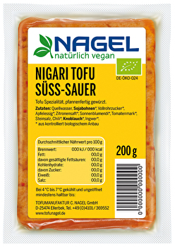 Nigari Tofu süß sauer von Nagel preiswert bei kokku im veganen Onlineshop kaufen!