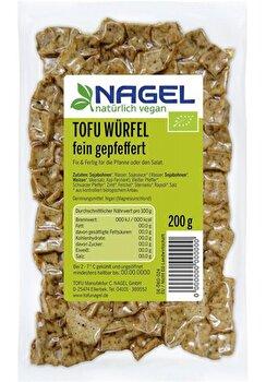 Tofu Würfel °fein gepfeffert° von Nagel günstig bei Kokku im Veganshop kaufen!