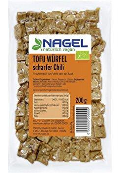 Tofu Würfel °scharfer Chili° von Nagel günstig bei Kokku im Veganshop kaufen!