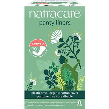 Slipeinlagen curved von natracare günstig bei Kokku im Veganshop kaufen!