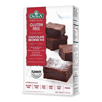 vegane Schoko Brownie Backmischung von Orgran preiswert bei kokku im veganen Onlineshop kaufen!