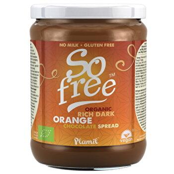 Bio Schokocreme Orange von Plamil günstig bei Kokku im Veganshop kaufen!