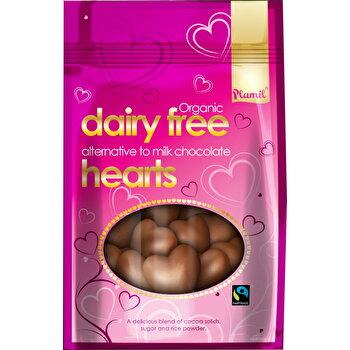 Bio Schokoladen Herzen von Plamil günstig bei Kokku im Veganshop kaufen!
