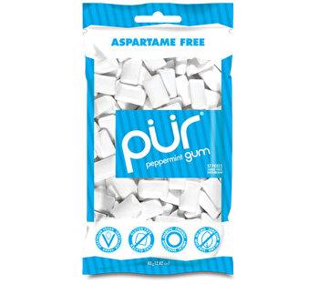 Peppermint Kaugummi Tüte von Pür Gum günstig bei kokku im veganen Onlineshop kaufen!