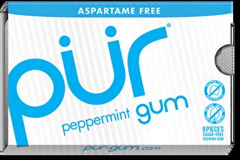 Aspartamfrei für gesundheitsbewusste Kaugummifans!