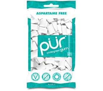 Wintergreen Kaugummi Tüte von Pür Gum günstig bei kokku im veganen Onlineshop kaufen!