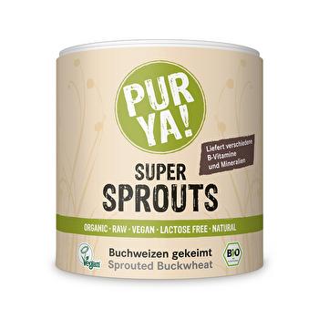 Super Sprouts Buchweizen Gekeimt von Pur Ya! bei kokku im veganen Shop kaufen!