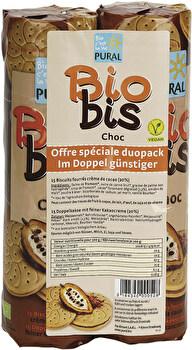 Doppelpack Biobis Choc (2x300g) von Pural günstig bei Kokku im Veganshop kaufen!