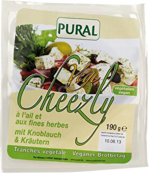Vegi Cheezly Knoblauch & Kräuter von Pural günstig bei Kokku im Veganshop kaufen!