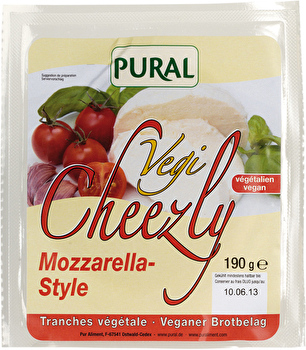 Vegi Cheezly Mozzarella Style von Pural günstig bei Kokku im Veganshop kaufen!