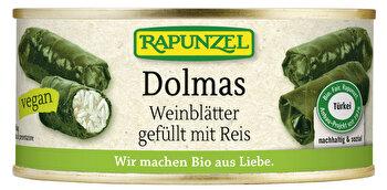 Dolmas Weinblätter gefüllt mit Reis von Rapunzel günstig bei Kokku im Veganshop kaufen!