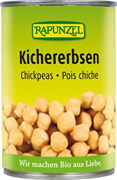 Kichererbsen fix & fertig gekocht von Rapunzel günstig bei Kokku im Veganshop kaufen!