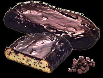 Dinkelstollen Schoko Mailänder Art (mit Schokodrops und Schokoglasur) von Sachse Stollen günstig bei Kokku im Veganshop kaufen!