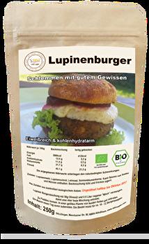 Lupinen Burger Mix von SALUvegan günstig bei Kokku im Veganshop kaufen!