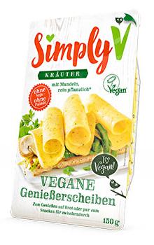 Simply V Vegane Genießerscheiben Kräuter günstig bei kokku kaufen!