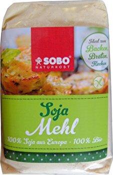 Sojamehl vollfett & glutenfrei von SOBO günstig bei kokku im veganen Onlineshop kaufen!