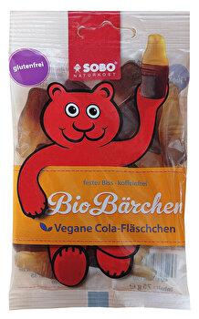 Vegane Gummi Cola Fläschchen von SOBO günstig bei kokku im veganen Onlineshop kaufen!