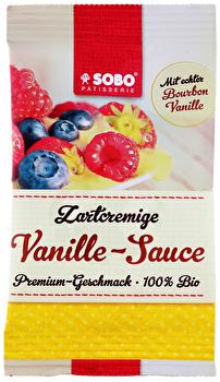 Vegane Vanillesauce von SOBO günstig bei kokku im veganen Onlineshop kaufen!