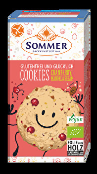 Cookies Cranberry, Mandel & Sesam glutenfrei von Sommer günstig bei Kokku im Veganshop kaufen!