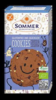 Cookies Schoko Cashew - glutenfrei von Sommer günstig bei Kokku im Veganshop kaufen!