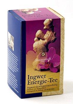 Ingwer Energie Tee Beutel (20x1,5g) von Sonnentor günstig bei Kokku im Veganshop kaufen!