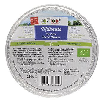 Milknuts Cashew Cream Cheese 150g von Soyatoo preiswert bei kokku im veganen Onlineshop kaufen!
