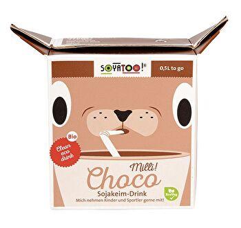 Milli! Choco Sojakeim Drink von Soyatoo günstig bei Kokku im Veganshop kaufen!
