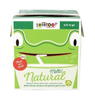 Milli! Natural Sojakeim Drink von Soyatoo günstig bei Kokku im Veganshop kaufen!