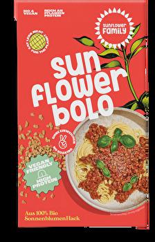 Sonnenblumenhack Bolognese von Sunflower Family günstig bei Kokku im Veganshop kaufen!