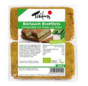 Vegane Bärlauch Bratfilets von Taifun günstig bei kokku im veganen Onlineshop kaufen!