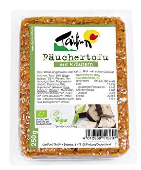 Räuchertofu mit Kräutern von Taifun günstig bei Kokku im Veganshop kaufen!
