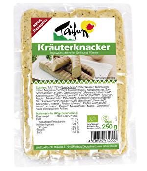Tofu Kräuterknacker von Taifun günstig bei Kokku im Veganshop kaufen!