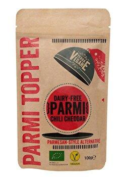 Parmesan Alternative °Chili Cheddar° von Terra Vegane günstig bei Kokku im Veganshop kaufen!