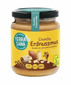veganer Erdnussmus Peanut crunchy von Terrasana preiswert bei kokku im veganen Onlineshop kaufen!