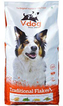 Traditional Flakes veganes Hunde Trockenfutter von V-dog günstig bei kokku im veganen Onlineshop kaufen!
