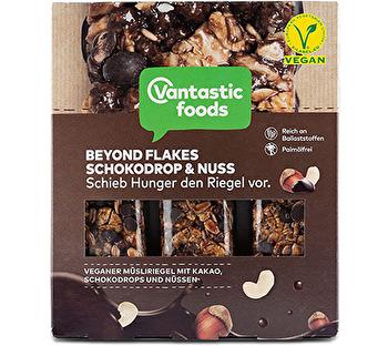 Beyond Flakes Müsliriegel Schokolade von Vantastic Foods preiswert bei kokku im veganen Onlineshop kaufen!