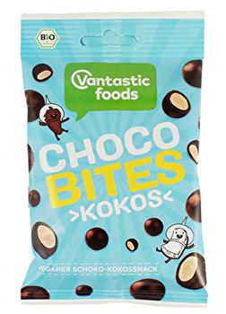 Choco Bites °Kokos° von Vantastic Foods günstig bei Kokku im Veganshop kaufen!