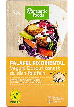 FALAFEL FIX Pulver °Oriental° von Vantastic Foods günstig bei Kokku im Veganshop kaufen!