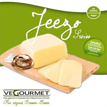 Veganer Käse am Stück Jeezo Swiss von Vegourmet günstig bei Kokku im Veganshop kaufen!