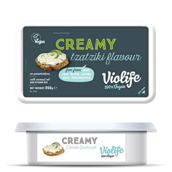Creamy Streich Gurke & Dill von Violife günstig bei Kokku im Veganshop kaufen!