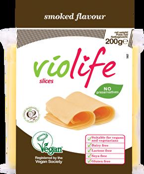 vegane Schmelzscheiben Raucharoma von Violife preiswert bei kokku im veganen Onlineshop kaufen!