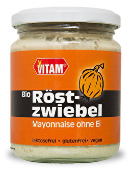vegane Röstzwiebel Mayonnaise von VITAM günstig bei Kokku im Veganshop kaufen!