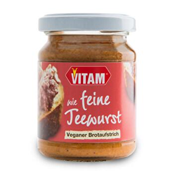 Wie feine Teewurst von VITAM günstig bei kokku im veganen Onlineshop kaufen!