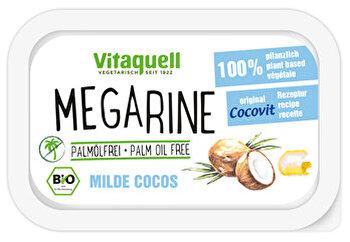 vegane Cocovit Margarine mit 18% Kokosöl von Vitaquell preiswert bei kokku im veganen Onlineshop kaufen!